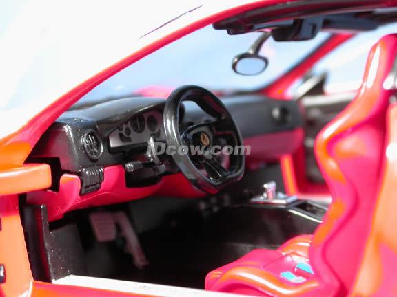 2004 Ferrari 360 Challenge Stradale diecast model car 1:18 scale die cast by Hot Wheels - Red