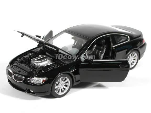 2004 BMW 645Ci diecast model car 1:18 scale die cast by Hot Wheels - Black