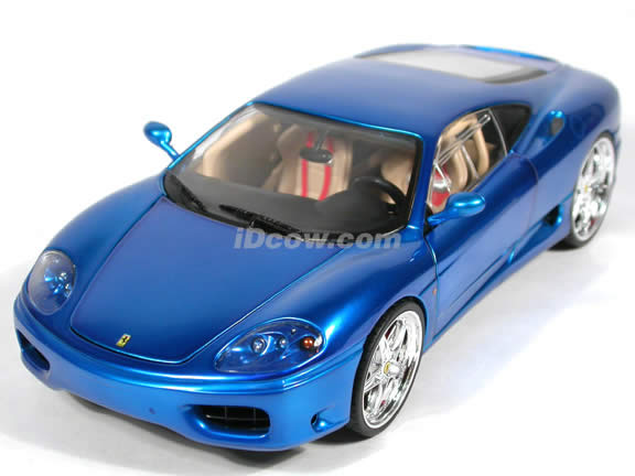Ferrari 360 Modena Whips diecast model car 1:18 scale die cast by ...