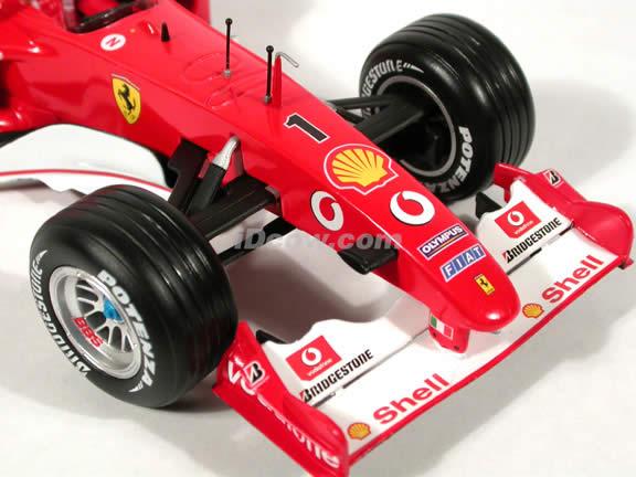 2002 Ferrari Formula One F1 - Michael Schumacher diecast model race car 1:18 scale die cast by Hot Wheels
