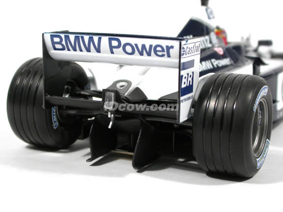 2003 Williams Formula One F1 - Juan Pablo Montoya diecast model race car 1:18 scale die cast by Hot Wheels