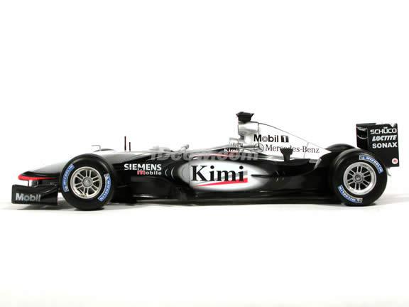2003 McLaren Formula One F1 - Kimi Raikkonen diecast model race car 1:18 scale die cast by Hot Wheels