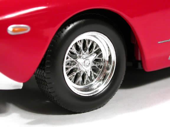 1962 Ferrari 250 GT Berlinetta diecast model car 1:18 scale die cast by Hot Wheels - Red