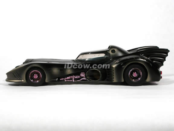 1989 Batmobile Battle Damaged diecast model car 1:18 scale die cast by Hot Wheels - 1 of 10,000