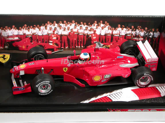 1999 Ferrari Formula One F1 F399 #3 Michael Schumacher diecast model car 1:18 scale die cast by Hot Wheels