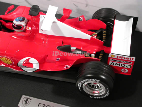 2004 Ferrari Formula One F1 #2 Rubens Barrichello diecast model car 1:18 scale die cast by Hot Wheels