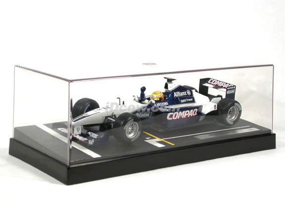 2001 Williams Formula One F1 #5 Ralf Schumacher diecast model race car 1:18 scale die cast by Hot Wheels Limited Edition
