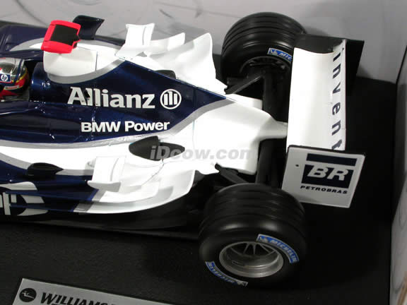 2004 Williams Formula One F1 BMW FW26 #3 Juan Pablo Montoya diecast model car 1:18 scale die cast by Hot Wheels