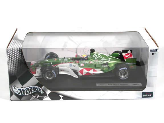 2004 Jaguar Formula One F1 R5 #14 Mark Webber diecast model car 1:18 scale die cast by Hot Wheels
