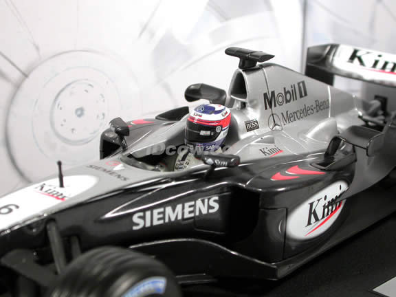 2004 McLaren Formula One F1 MP4-19 #6 Kimi Raikkonen diecast model car 1:18 scale die cast by Hot Wheels