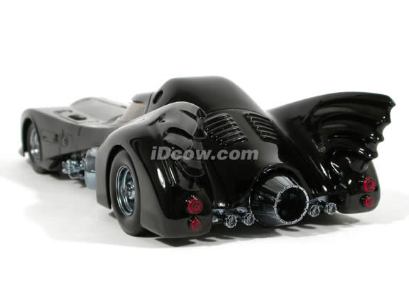 1989 Batmobile diecast model car 1:18 die cast by Hot Wheels - Limited Edition Tube