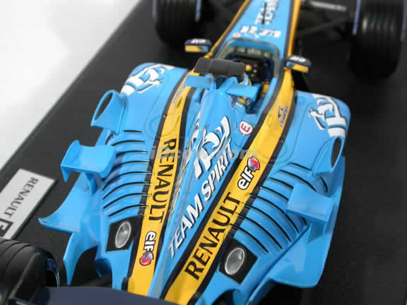 2005 Renault Formula One F1 R25 #6 Giancarlo Fisichella diecast model car 1:18 scale die cast by Hot Wheels
