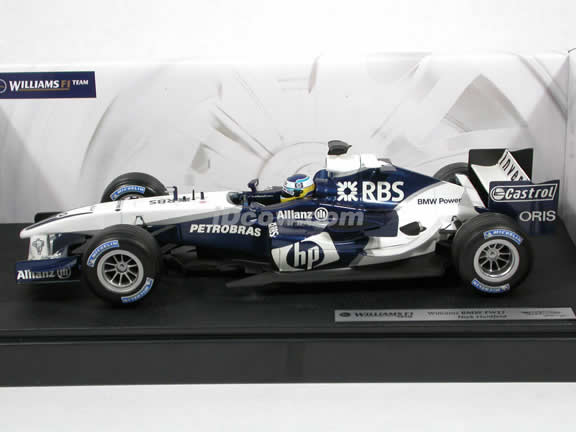 2005 BMW FW27 Williams Formula One F1 Nick Heidfeld diecast model car 1:18 scale die cast by Hot Wheels - G9726