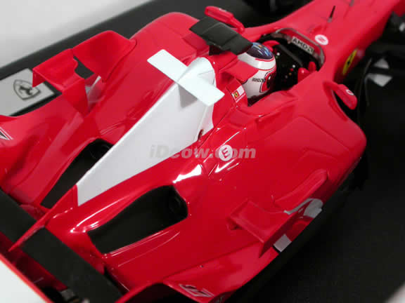 2005 Ferrari Formula One F1 #2 Rubens Barrichello diecast model race car 1:18 die cast by Hot Wheels - G9728