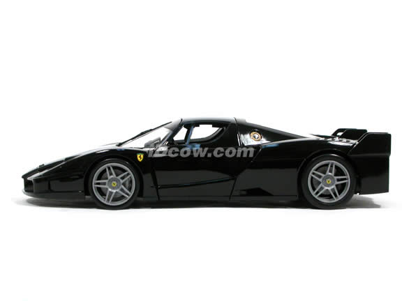 2006 Ferrari FXX Enzo diecast model car 1:18 scale die cast by Hot Wheels - Black J2864