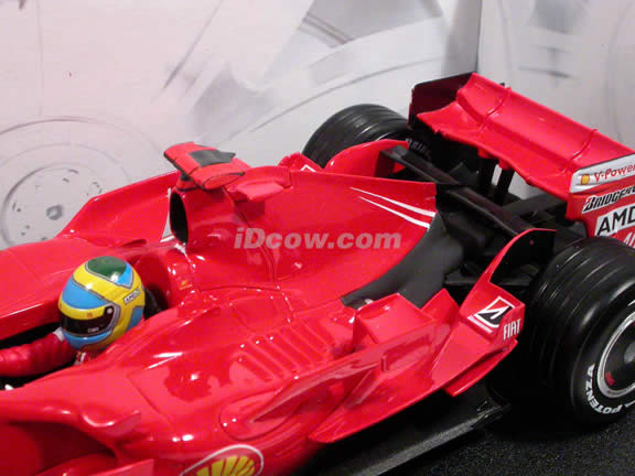 2007 Ferrari Formula One F1 #5 Felipe Massa diecast model race car 1:18 die cast by Hot Wheels - K6630