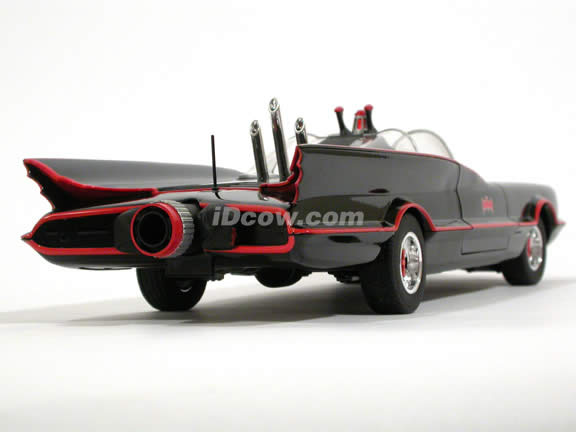 1966 Batmobile diecast model car 1:18 scale TV Series by Hot Wheels - L2090