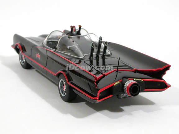 1966 Batmobile diecast model car 1:18 scale TV Series by Hot Wheels Elite - Elite L7130