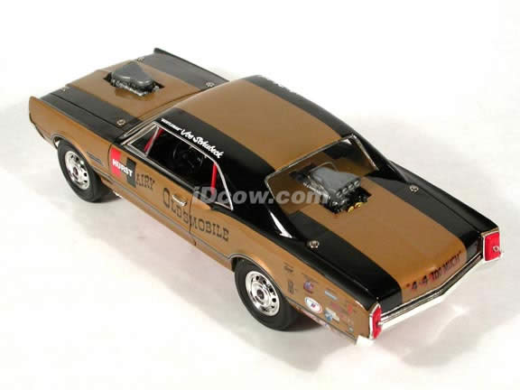 1966 Hurst Hairy Olds diecast model car 1:18 scale die cast by Highway 61