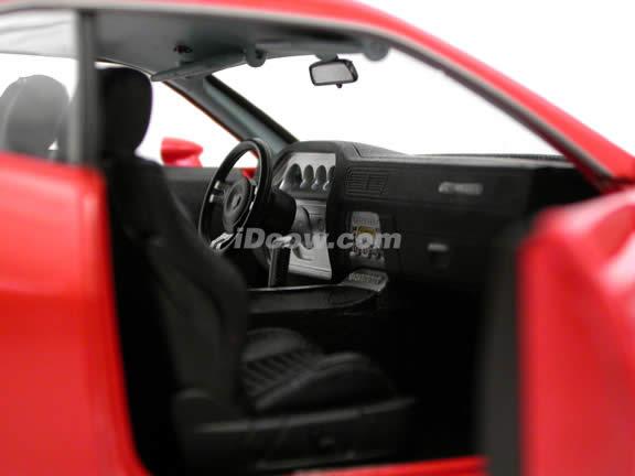 2008 Dodge Challenger diecast model car 1:18 scale die cast by Highway 61 - Orange