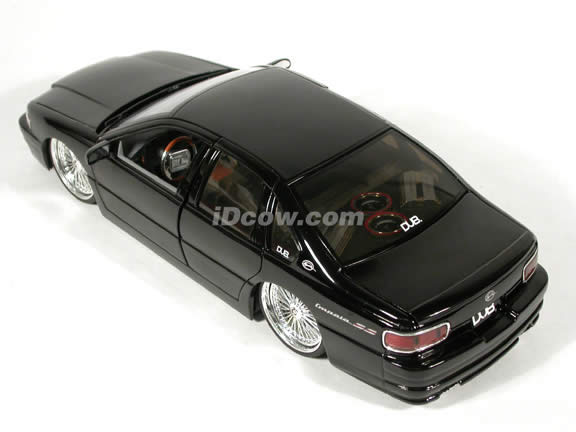1996 Chevy Impala SS diecast model car 1:18 scale from Dub City Jada Toys - Black