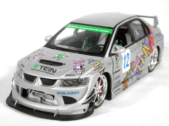 2004 mitsubishi lancer evolution viii 12 diecast model car 118 scale die cast from import racer - Mitsubishi Evolution 2004