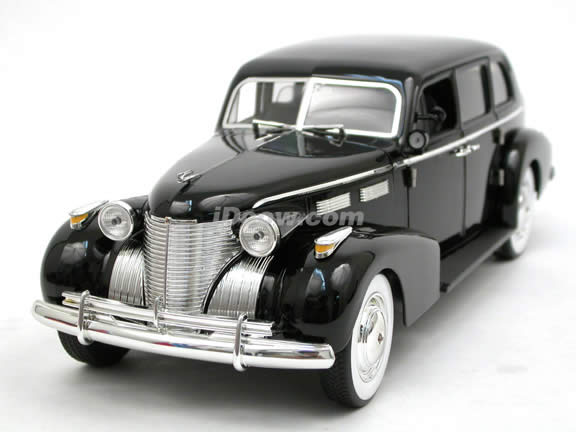 1940 Cadillac Fleetwood Series 75 Godfather diecast model car 1:18 scale die cast by Jada Toys - 91199