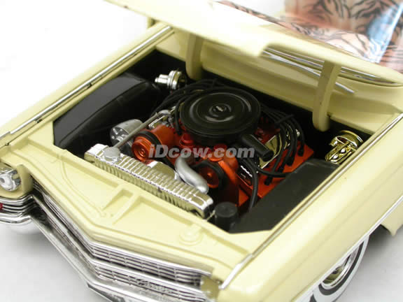 1963 Cadillac Series 62 Scarface diecast model car 1:18 scale die cast by Jada Toys - 90003