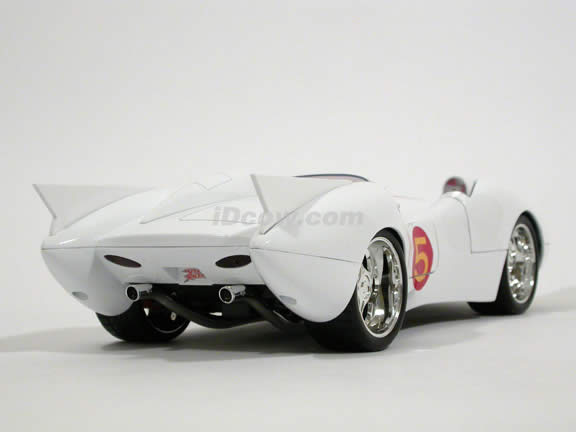 Speed Racer Mach 5 diecast model car 1:18 die cast by Jada Toys - 91879