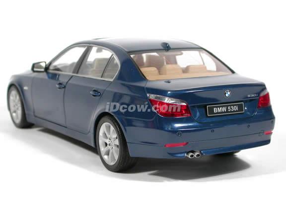 2003 BMW 530i diecast model car 1:18 scale die cast from Jadi - Metallic Blue
