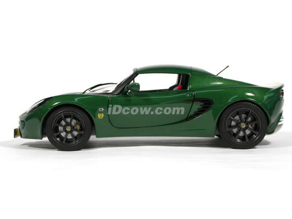 2002 Lotus Elise Type 25 diecast model car 1:18 scale die cast from Jadi - Green
