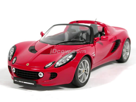 2002 Lotus Elise diecast model car 1:18 scale die cast from Jadi - Red