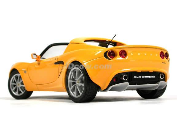 2002 Lotus Elise diecast model car 1:18 scale die cast from Jadi - Yellow