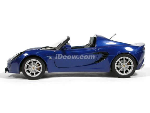 2002 Lotus Elise diecast model car 1:18 scale die cast from Jadi - Blue