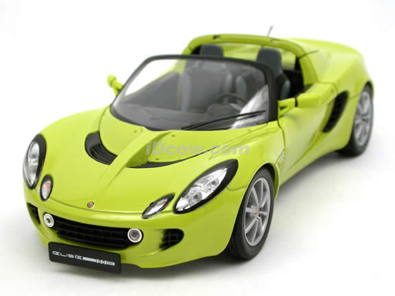 2002 Lotus Elise diecast model car 1:18 scale die cast from Jadi - Green