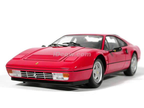 1988 Ferrari 328 GTB diecast model car 1:18 scale die cast from Kyosho - Red