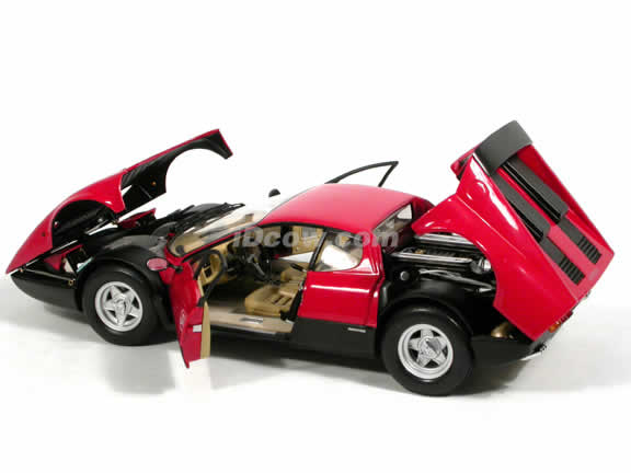 1971 Ferrari 365 GT4/BB diecast model car 1:18 scale die cast from Kyosho - Red 08173R
