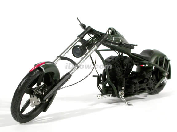 Orange County Choppers Comanche Diecast Motorcycle Model 1:10 scale die cast from ERTL (American Choppers)