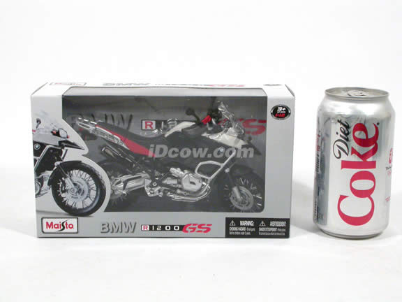 2008 BMW R1200 GS Diecast Motorcycle Model 1:12 scale die cast from Maisto - 31157