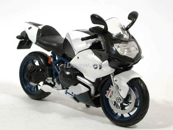 2009 BMW HP2 Sport diecast motorcycle Model 1:12 scale die cast by Maisto - White
