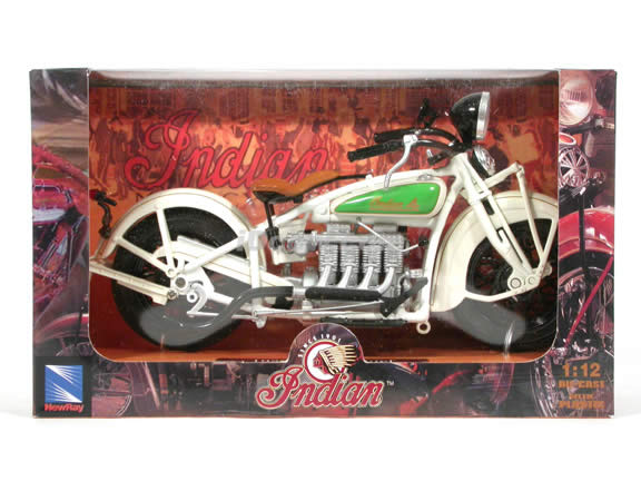1930 Indian Chief Diecast Motorcycle Model 1:12 scale die cast from NewRay