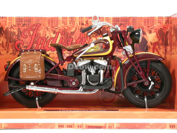 1934 Indian Sport Scout Diecast Motorcycle Model 1:12 scale die cast from NewRay