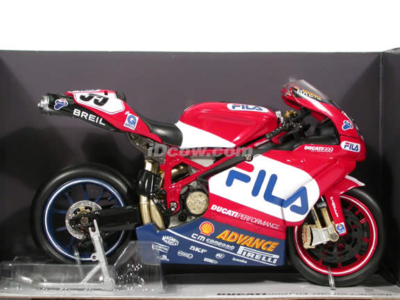 2004 Ducati 999 F04 Regis Laconi #55 Diecast Motorcycle Model 1:12 scale die cast from NewRay