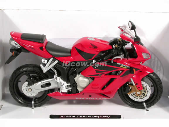 2005 Honda CBR1000R Diecast Motorcycle Model 1:12 scale die cast from NewRay - Red 42387
