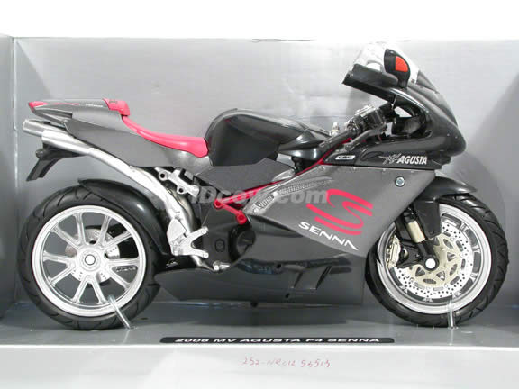 2006 MV Agusta F4 Senna Diecast Motorcycle Model 1:12 scale die cast by NewRay - Senna 42653
