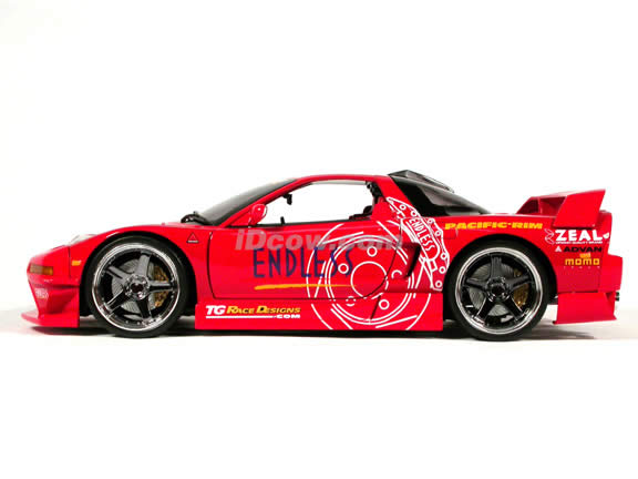 Acura Nsx Diecast Model Car 1 18 Scale Die Cast From Muscle