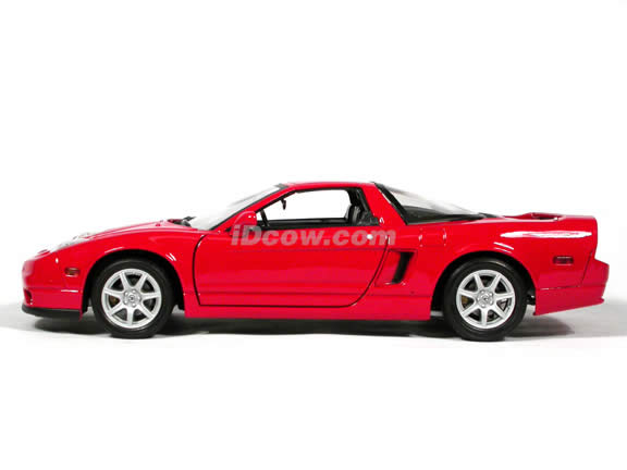 2002 Acura NSX diecast model car 1:18 scale die cast by Motor Max - Red