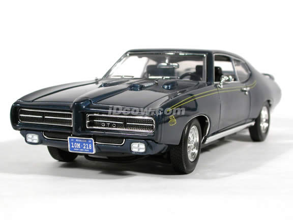 diecast car: 1969 Pontiac GTO Judge diecast model car