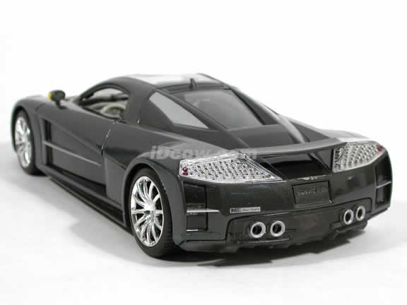 2005 Chrysler ME FOUR TWELVE Concept diecast model car 1:18 scale die cast by Motor Max - Gloss Platinum 73138