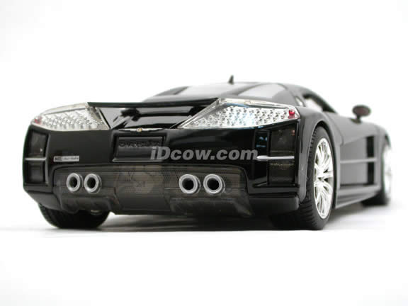 2005 Chrysler ME FOUR TWELVE Concept diecast model car 1:18 scale die cast by Motor Max - Gloss Black 73138